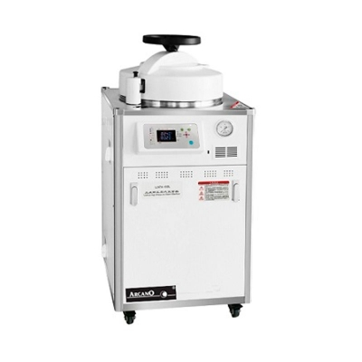 Autoclave Vertical Electrica Monocomando 50 litros Marca Arcano Modelo Ldzx-50l