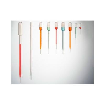 Pipeta Pasteur Plástico 3 mL (Bolsa x 50 unidades)
