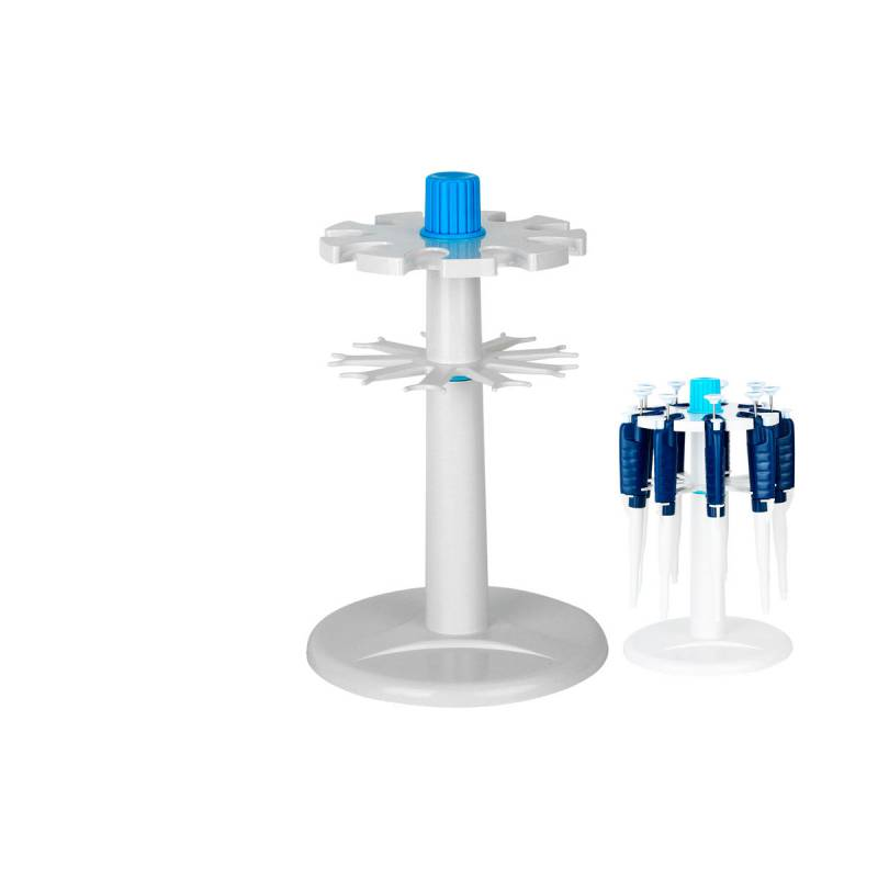 Soporte Carrousel para Micropipetas de Volumen Variable (8 Posiciones)