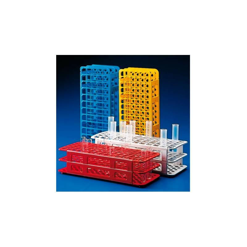 Gradilla Plastica (para 90 tubos de 12mm)