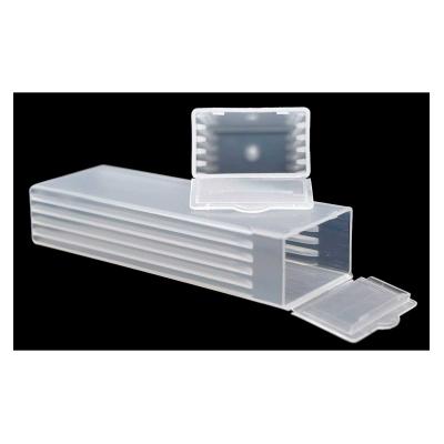 Contenedor Plastico para Transporte (para 5 Preparados)